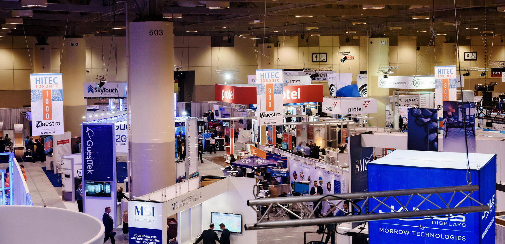 Trade Show Booth Exhibitors : Hospitality trade show exhibitor information hftp