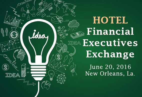 Hotel financial executives event